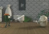 Super Baozi vs. Shushi Man