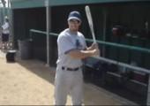 Trick mit der Baseballkeule