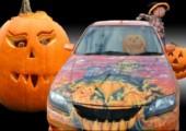 Halloween Fahrzeuge