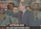 Foto mit Bush