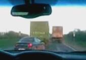 Total bekloppter LKW Fahrer