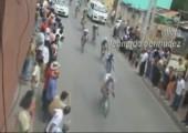 Auffahrunfall beim Radrennen