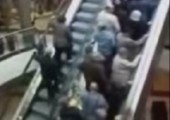Der Versuch eine Rolltreppe zu überlisten