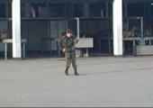 Michael Jackson Perfomance in der Kaserne