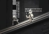 Die Rolltreppe im Todesstern
