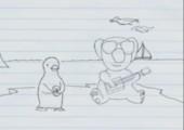 Penguin und Koala Duo