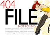 Schön gestaltete 404 Seiten