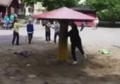 Eine sehr schlechte Idee für einen Kinderspielplatz
