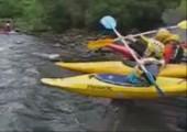 Kayak Rennen