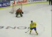 Cooles Eishockeytor
