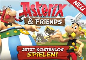 Asterix and Friends - Browsergame