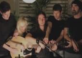 Fünf Leute - eine Gitarre - ein Lied