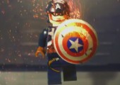 Lego Captain America - Ultra brutal Version