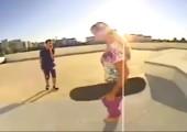 Sie mag keine Skateboards