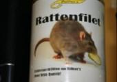 Rattenfilet in der Dose