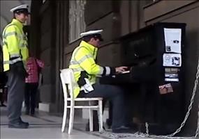 Musikalische Prager Polizei