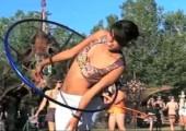 Hula Hoops in Slow Motion