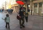 One man band in Kroatien