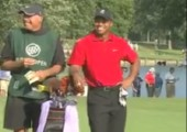 Tiger Woods lässt einen fahren