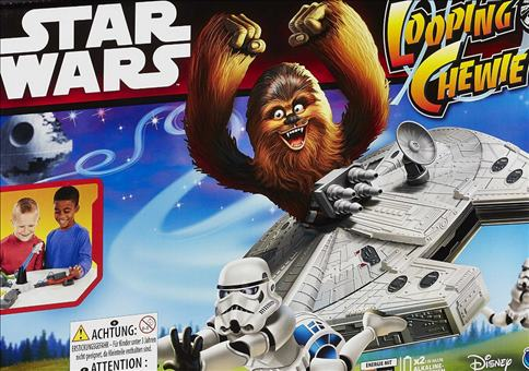Star Wars Looping Chewie