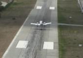 Landebahn zu kurz