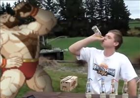 Zangief Loves Vodka - Besoffene Fail Compilation
