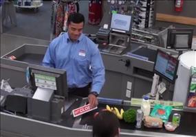 Streich: Neulich im Supermarkt an der Kasse
