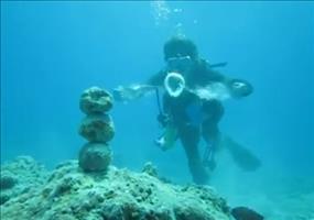 Die Macht der Luftringe unter Wasser