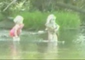 Kinder fangen die dicksten Fische