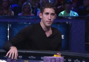 Die Reaktion eines Pokerspielers bei einem Gewinn von 15Mio$