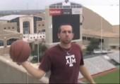 Längster Basketballwurf ever - Andere Perspektive