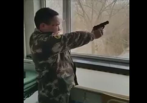 Schießübung in Nordkorea
