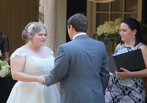 So ne Hochzeit kann schon sehr aufregend sein