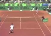 Mansour Bahrami vs. Boris Becker