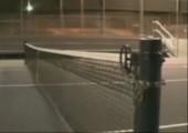 Tennisnetz Trick