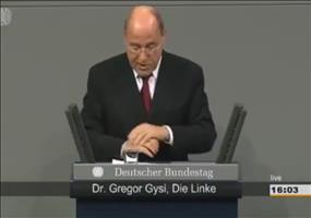 Gregor Gysi zur NSA-Affäre
