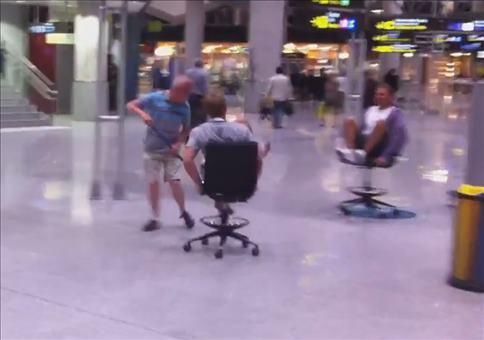Flughafen Curling