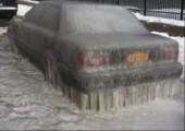 Eis-Auto