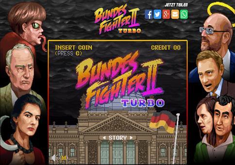 Bundesfighter 2 Turbo - Das Prügelspiel zum Wahlkampf