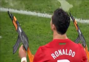 Fußball mit Spezialeffekten