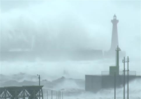 Was für eine riesige Welle!