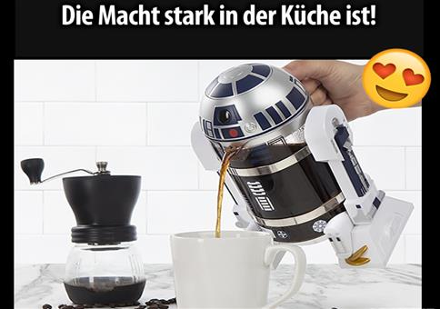 Echter Star Wars Kaffee