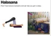 Yoga für Betrunkene