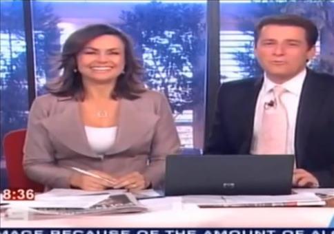 Wenn eine Nachrichtensendung mehr einer Comedy gleicht