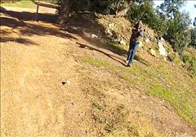 Ihm wird das Fahrrad geklaut und seine GoPro filmt alles