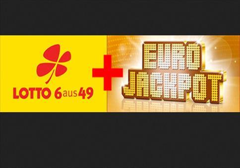 6 Tipps 6aus49 + 1 Tipp EuroJackpot für 1€ (statt 10,00€)