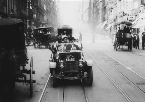 Ein Trip durch New York City im Jahre 1911
