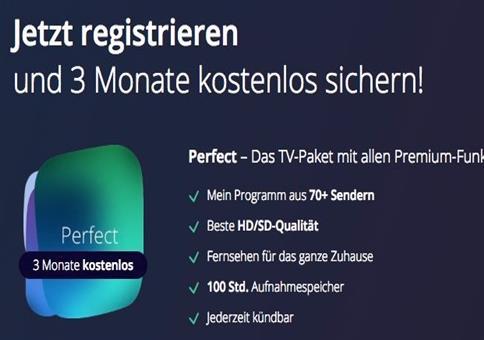 Gratis! 3 Monate waipu.tv Streamingdienst kostenlos testen