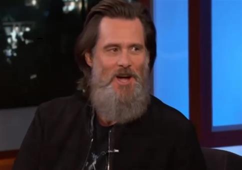 Der Bart von Jim Carrey