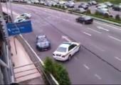 Polizei vs. Drifter